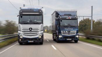 Στον δρόμο προς δοκιμή, βγήκε το πρωτότυπο Mercedes-Benz GenH2 Truck κυψελών καυσίμου, το οποίο θα λανσαριστεί το 2027.
