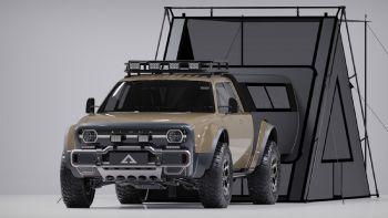 Η εταιρεία Alpha Motor Corporation παρουσίασε ένα αρκετά ενδιαφέρον πρωτότυπο Pick-Up με την ονομασία «Wolf+» που διακρίνεται για την εξαιρετική σχεδίαση του.  Πρωτότυπο ηλεκτρικό Pick-Up από την Alpha