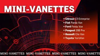 Τα Mini-Vanettes αποτελούν τη βέλτιστη λύση για όσους επιχειρούν στον κλάδο των αστικών ταχυμεταφορών… και όχι μόνο, προσφέροντας ευελιξία, περιορισμένο Συνολικό Κόστος Ιδιοκτησίας για φορτία έως και 500 κιλών!  Εξειδίκευση στις αστικές ταχυμεταφορές