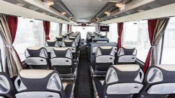 Με σχετική εγκύκλιο του υπουργείου Μεταφορών ανακοινώθηκαν νέα συμπληρωματικά μέτρα που αφορούν στις μετακινήσεις επιβατών με Taxi, τρόλεϊ, λεωφορεία αλλά και Ι.Χ. οχήματα. Διαβάστε περισσότερα εδώ… Ένας επιβάτης ανά σειρά καθισμάτων και μόνο το 50% των επιβατών στα λεωφορεία όλων των τύπων επιτρέπονται πλέον σε όλα τα Ι.Χ. & Δ.Χ. επιβατικά οχήματα.