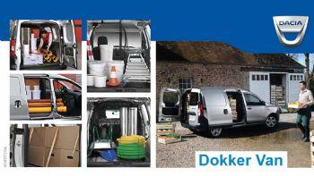 Το Vanette της Dacia αποτελεί μια πληρέστατη, σε όλους τους τομείς, επιλογή για τον σύγχρονο επαγγελματία που μετρά κάθε ευρώ, καθώς έχει μεγάλες μεταφορικές δυνατότητες, χαμηλό κόστος αγοράς, χρήσης, συντήρησης και επισκευής.  Dacia Dokker για όλες τις δουλειές!