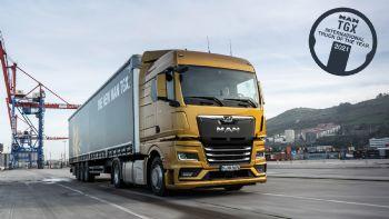 Τον επίζηλο τίτλο του «International Truck of the Year» για το 2021 απέσπασε η νέα γενιά του MAN TGX, παίρνοντας τη σκυτάλη από τον περυσινό νικητή του θεσμού, το Mercedes-Benz Actros  Το νέας γενιάς MAN TGX επικράτησε στον φετινό διαγωνισμό «International Truck of the Year 2021».