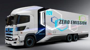 Σε συνεργασία με την εταιρεία παραγωγής φορτηγών Hino Motors, η Toyota εξελίσσει ένα νέο φορτηγό με τεχνολογία fuel-cells και μέγιστη αυτονομία τουλάχιστον 600 χλμ. Η Toyota εξελίσσει σε συνεργασία με την εταιρεία Hino Motors ένα νέο φορτηγό με κυψέλες καυσίμων (fuel-cells) και καύσιμο το υδρογόνο.