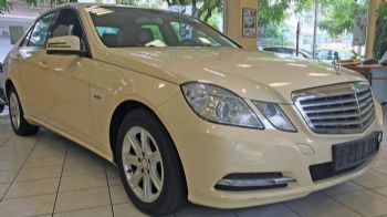 To μεταχειρισμένο του μήνα: Mercedes-Benz E200 CDI Automatic Classic Taxi του 2012