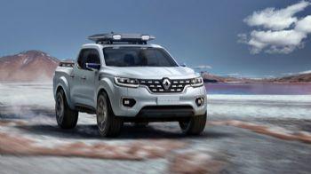Στο Παρίσι για το νέο Renault Alaskan Pick-Up