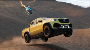 Mercedes X-Class και σε videogame (+video)