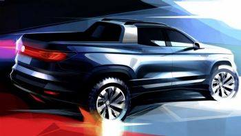 Teaser νέου VW pick-up
