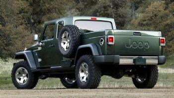 Στα σκαριά το νέο Jeep Pick Up