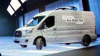 Ερχεται το ηλεκτρικό Ford Transit