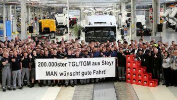 Ρεκόρ παραγωγής για τα MAN TGL & TGM