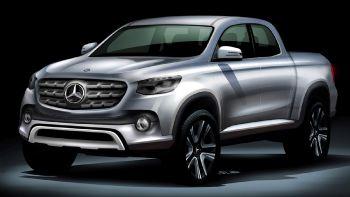 Λίγο πριν το νέο Mercedes Pick-Up