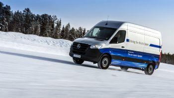 To eSprinter Van πάει «χιόνια»!