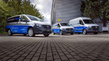 Η νέα εποχή των Mercedes-Benz eVans είναι εδώ!