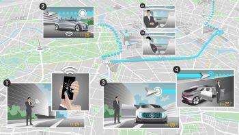 Mercedes: Αυτόνομο το μέλλον των Taxi