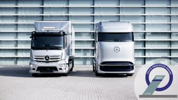 Βραβείο Καινοτομίας στη Mercedes-Benz Trucks