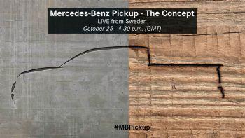 Αυλαία για το Mercedes PickUp