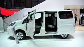 To νέο ηλεκτροκίνητο Nissan Evalia