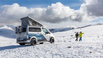 Στα χιόνια με ένα πρωτότυπο ηλεκτρικό Nissan (+vid)