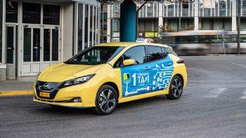 Το 1ο «e-Taxi» από τις Nissan & Taxiplon!