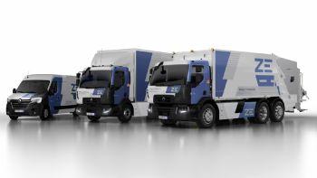 Η Renault ξεκινά την παραγωγή ηλεκτρικών φορτηγών