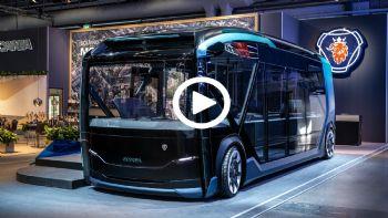 Το φουτουριστικό Scania NXT (+video)