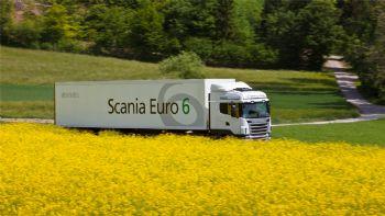Η Scania υποστηρίζει τα biofuels