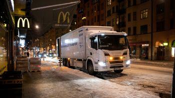 Νυχτερινές διανομές στη Στοκχόλμη (vid)