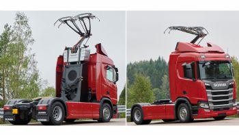 Ηλεκτρικά φορτηγά της Scania θα φορτίζουν εν κινήσει!