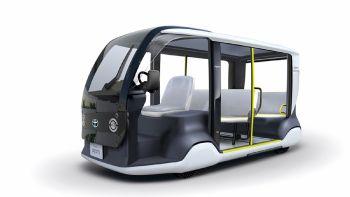 Πρωτότυπο «Ολυμπιακό» όχημα από τη Toyota
