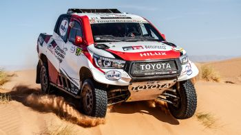Με Toyota Hilux στο Rally Dakar 2020 o Alonso