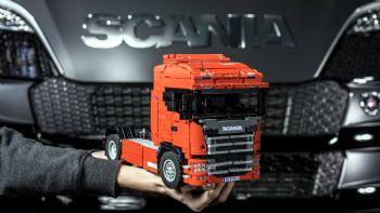 Το νέο Scania από Lego!