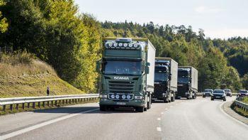 Η Scania πρωτοστατεί στο Platooning