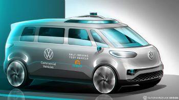 Αυτόνομο το ηλεκτρικό VW I.D. BUZZ από το 2025