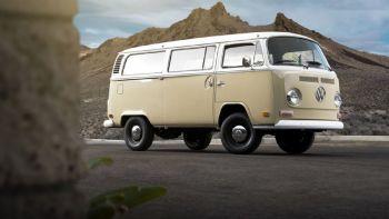 Ηλεκτροκίνητο VW Bulli του 1972!