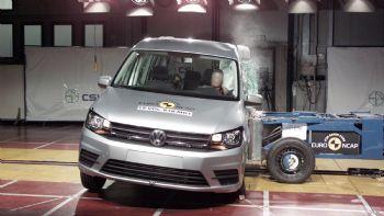 Euro NCAP: 4 αστέρια για το νέο VW Caddy