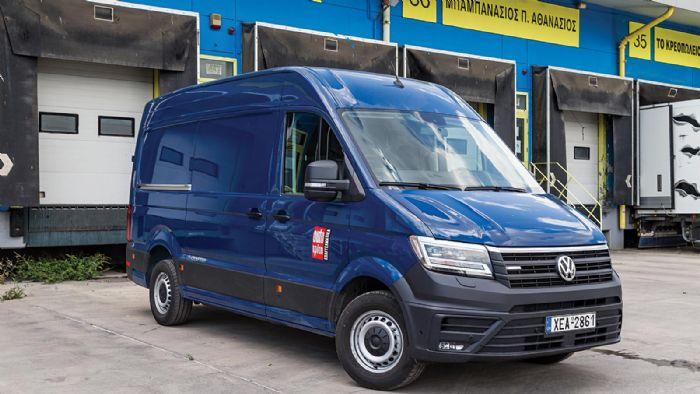 Δοκιμάζουμε το ηλεκτρικό Volkswagen e-Crafter και σας μεταφέρουμε τη γνώμη μας.