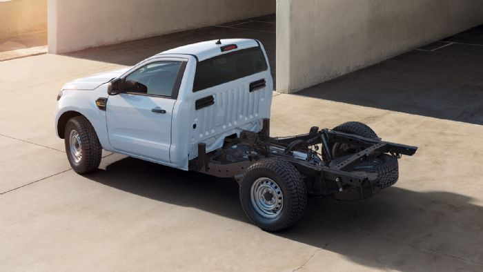 "Ford Ranger: Τώρα στην έκδοση ""Chassis Cab"""