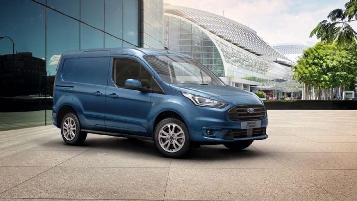 Ανανέωση για το Ford Transit Connect