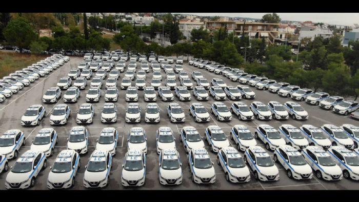 Οι νέες περιπολίες του ΕΛ.ΑΣ.  από τη Nissan