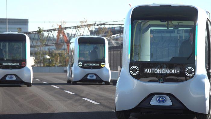 Αυτόνομη κινητικότητα από την Toyota (+ vids)