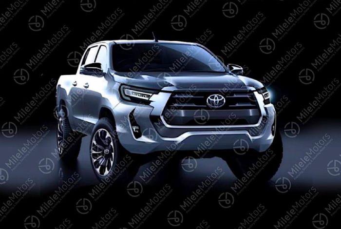 Αυτό είναι το Toyota Hilux του 2021
