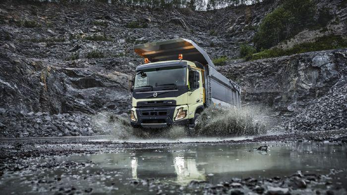10 χρόνια επέτειας επιτυχίας για το Volvo FMX (+ vids)